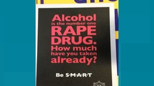 Police apologise after PSNI flyers linking rape to alcohol distributed