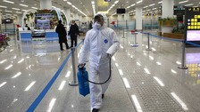 Pandemic fears as coronavirus speads across the globe