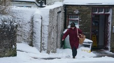 Heavy snow fall closes more than 35 schools in Cumbria