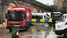 Body found in the back of a rubbish lorry in south London