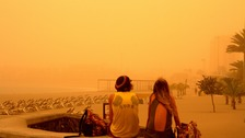 Saharan sandstorm affects flights between Newcastle and the Canaries