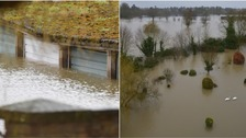 Further flood warnings as snow and rain batter parts of UK