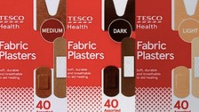 Tesco launches plasters to match range of skin tones in UK first