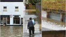 Floods bring 'danger to life' as heavy rain batters UK