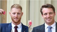 Ben Stokes and Jos Buttler collect honours at Buckingham Palace