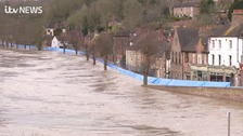 More homes evacuated as flooding continues to hit the Midlands