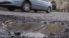 Rain and storms bring pothole misery for motorists