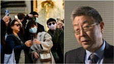 Coronavirus: Chinese minister 'sorry for the loss of life'