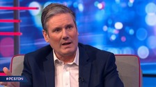 Starmer tells Peston that Johnson won because Labour 'made him look good'