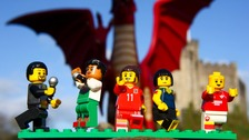 Five Welsh icons created out of Lego to celebrate St David's Day
