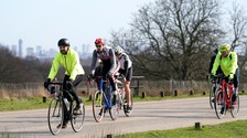 Cyclists stopped from using Richmond Park