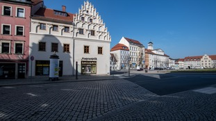 A quiet street in Saxony.