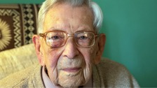 World's oldest man Bob Weighton celebrating his 112th birthday in isolation