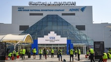Photos show progress as ExCel Centre is converted into a coronavirus hospital