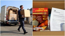 Food parcels delivered to most vulnerable during lockdown