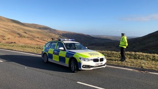 Officers had set up road-blocks to check on drivers.