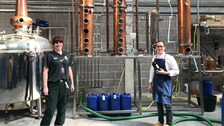 Distilleries manufacture hand sanitiser for frontline NHS staff