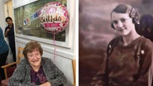 Great-grandmother celebrates 100th birthday without her family due to lockdown