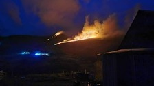 Wildfire on Cumbria fells 'may have been started deliberately'
