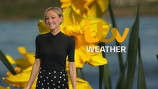 Wales Weather: Sunny spells and scattered showers!