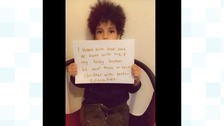 6yr old makes video plea to bring his father home from Uganda