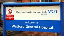 Watford General Hospital declares critical incident and tells people to stay away