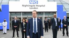 ExCel U-turns on charges to NHS for Nightingale hospital