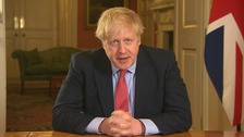 Prime Minister Boris Johnson admitted to hospital for coronavirus tests