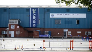 Tom Miller's former club, Bury FC, was expelled from the Football League for missing payments.