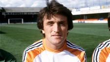 Luton Town pays tribute to former star