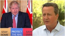 Cameron praying 'very tough' PM comes through coronavirus illness