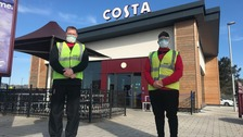 Drive-through coffee shop in Cornwall is country's first for blood testing