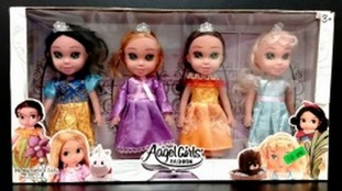 Aagel Girls doll set