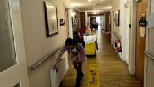 Care home workers and relatives' anguish in battle against virus