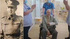 Watch: 99-year-old coronavirus survivor applauded out of hospital