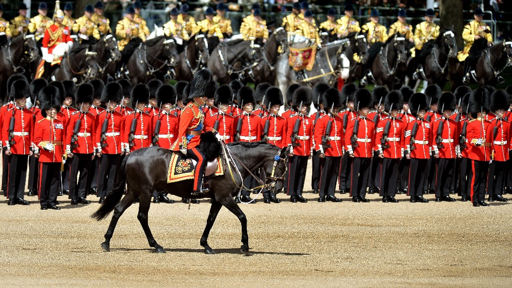Queen attends Trooping of the Colour | London - ITV News