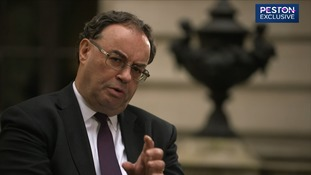 Governor of Bank of England Andrew Bailey