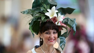 Beverley Midgley-McDonald arrives during day three of the Royal Ascot meeting