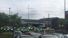 Huge police presence following reports of gunshots in Blackburn
