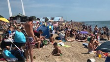 Southend packed with thousands of sunseekers during lockdown