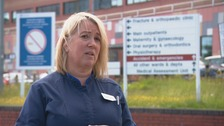 'I have felt overwhelmed' says nurse on virus frontline