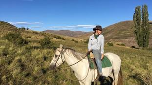Bus, taxi, horseback and plane: Briton's journey home from locked-down Patagonia