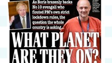 'What planet are they on?' - Papers attack PM and Cummings