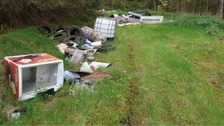 Fly-tipping in the Borders sparks police investigation