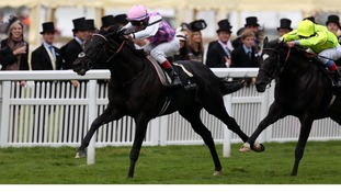 Thomas Chippendale ridden by Johnny Murtagh won the Hardwicke Stakes at Royal Ascot.