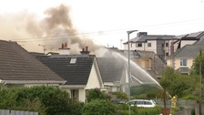 Two houses damaged after major house fire in Portstewart