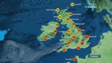 UK weather: Sunny and warm weather continues