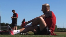 Bristol City players return to small group training after coronavirus hiatus