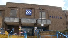 Thorpe Wood police station in Peterborough