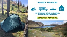 Cumbria campers handed fines for breaching Covid-19 rules